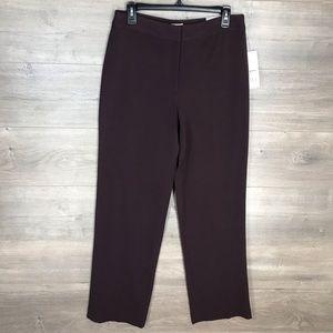 3/$25🛍️ apt. 9 Women's Dress Pants in Aubergine